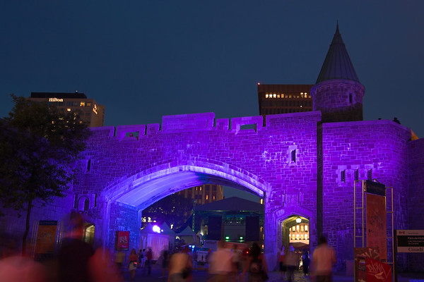 Quebec de noche