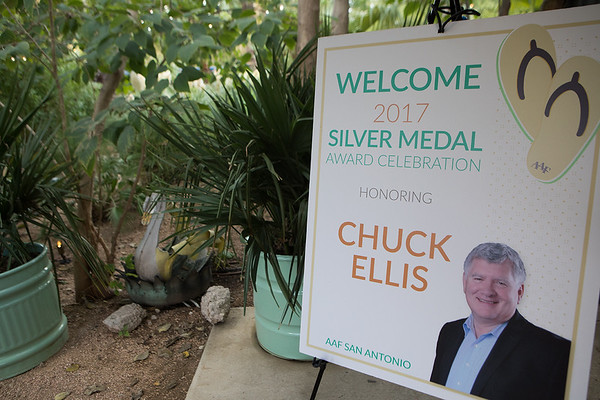 Chucks Silver Medal Award