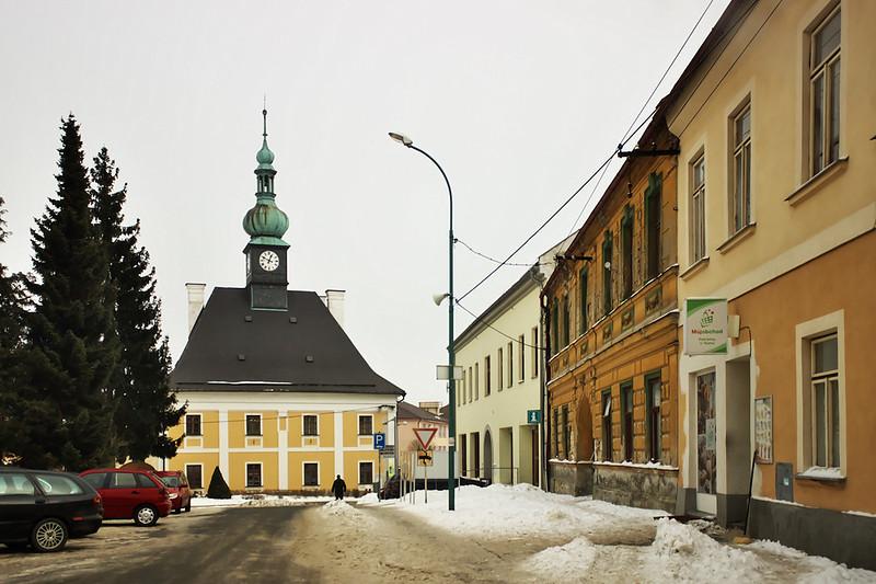 Radnice v Bystrém