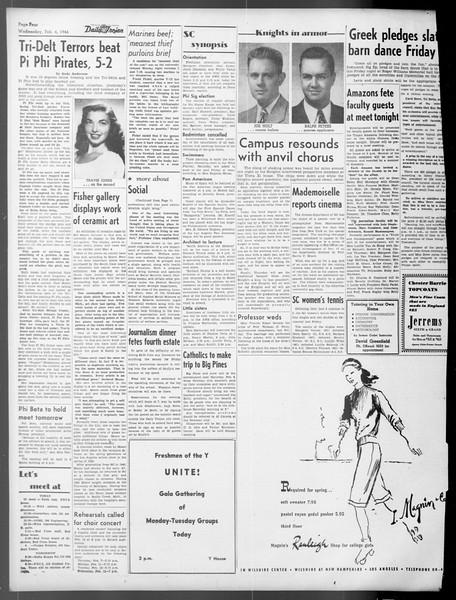 Daily Trojan, Vol. 37, No. 65, February 06, 1946