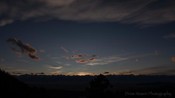 Sunset November