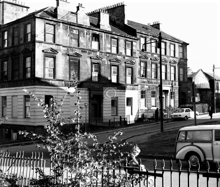 Dalhousie St., east side south of Buccleuch St.   August 1974