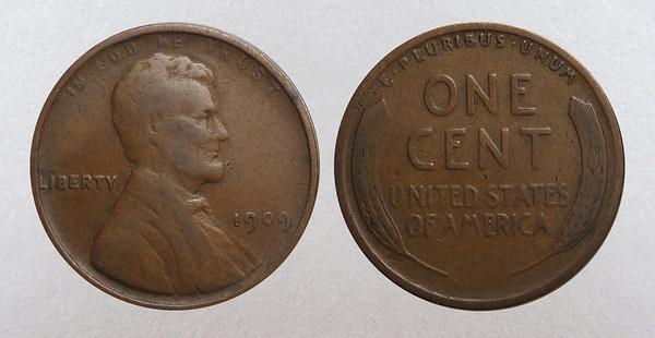 Lincoln Cents 1909-1940