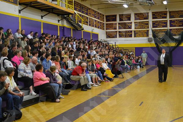 Wakeup Call at Bucksport High School