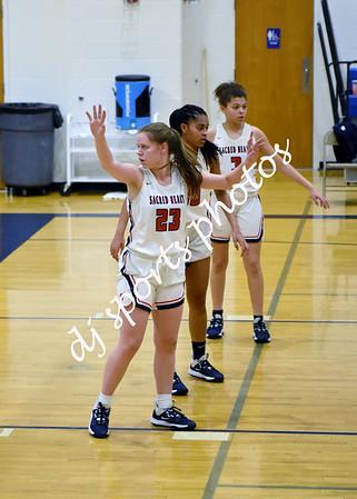 2020-01-10 SHA JV Girls Basketball vs Campbell County