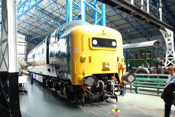 York Rail Museum 2007.