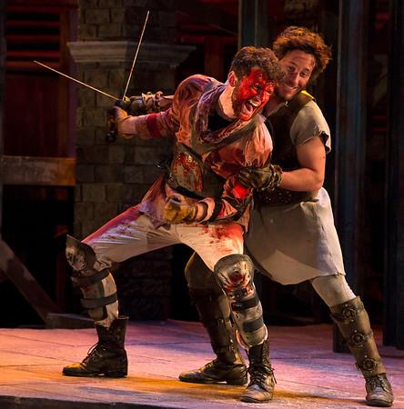 ECU Theater 'The Tragedy of Coriolanus' 2015