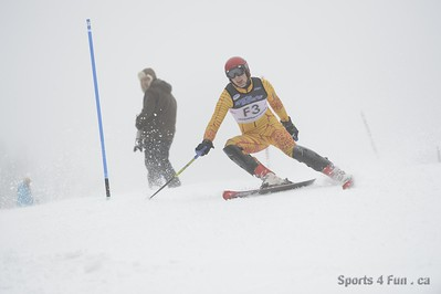 Slalom, Men CAN - QC - MONT ST SAUVEUR 1/13/2013