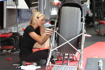 Pro Stock Motorcycle Pits