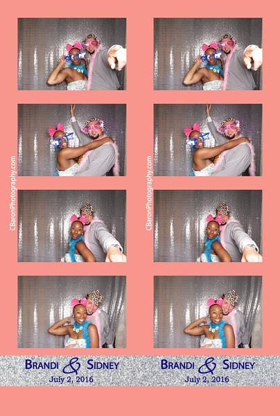 Brandi + Sidney = Open Photobooth