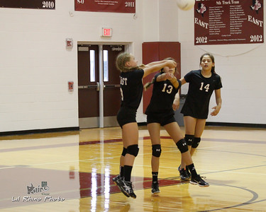 Pearland East Junior High Volleyball