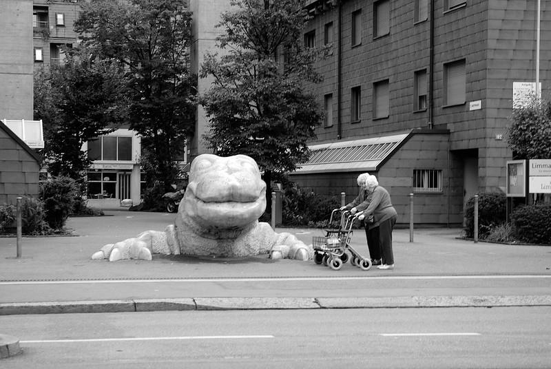 Zurich Monster With Elderly Twins