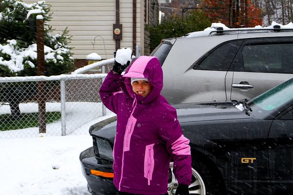 2012 First Snow - Tropical Strom Sandy