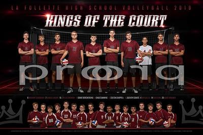 La Follette Boys Volleyball