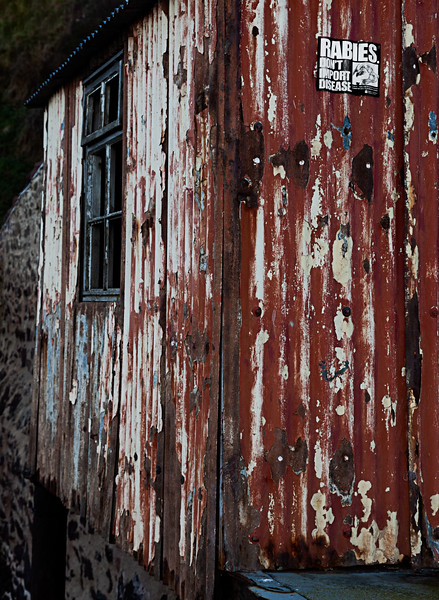 St Abbs Shed