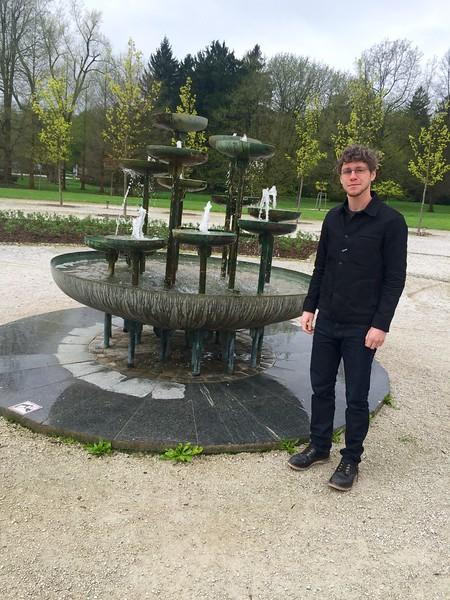 Cool fountain in Tivoli park