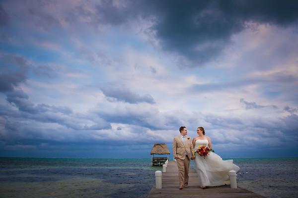 Sarah & Clint - Wedding - Belize - 2020
