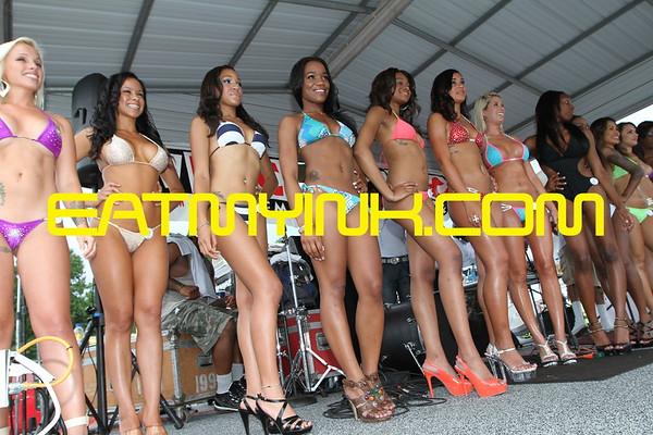 Bikini contest MIR WPGC Bike Fest 2013