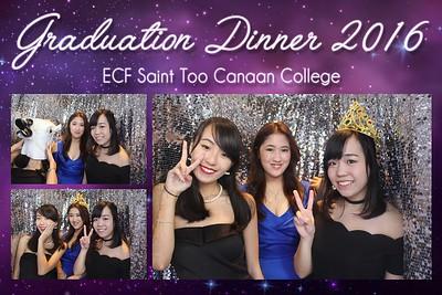 Graduation Dinner 2016 ECF - 27th June 2016