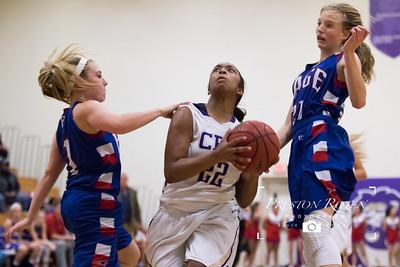 CPA Varsity Girls Basketball vs. Page HS
