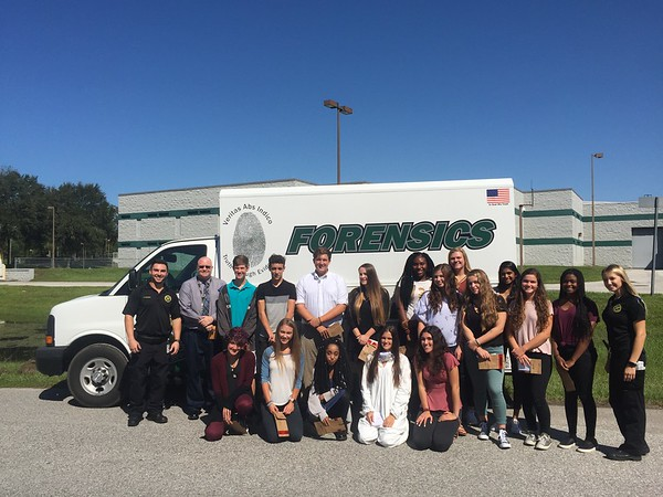 Forensic Science Field Trip 2017