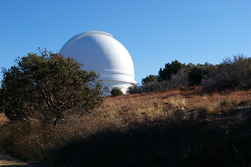 Palomar Observatory.