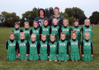 Avon Flag Cheerleaders