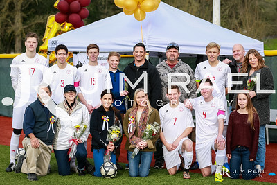 Senior Night and Recognition   2017 Winter Sports