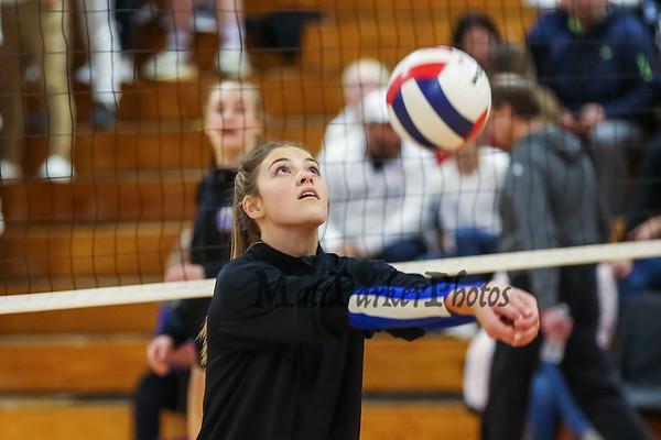 2019-11-5 WHS Girls Volleyball vs Nashua South Semi-Finals