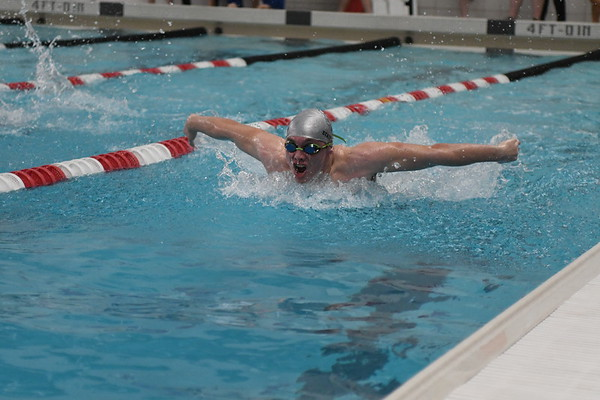 Swimming at Elkhorn Invite