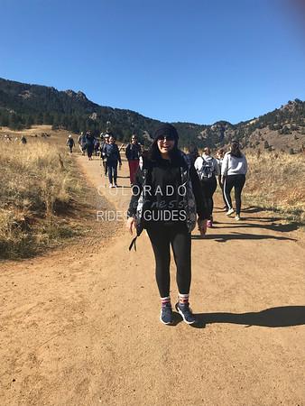 2019 10 19 Idea Boulder AM Hiking