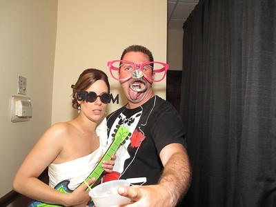 Kelly & Matt Wedding Photo Booth Hidden Video