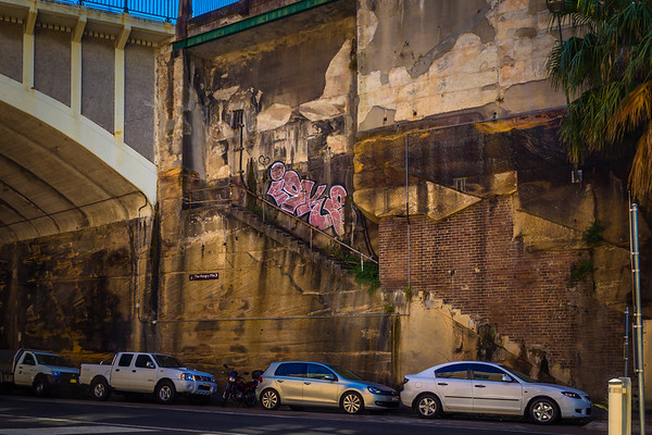 Millers Point : Stairs to Nowhere