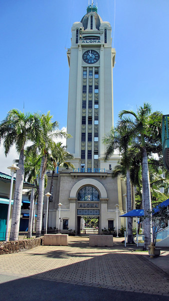 Aloha Tower, Iolani Palace, Mt. Tantulus
