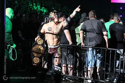 Young Bucks and Kota Ibushi vs Rey Mysterio, Bandido and Rey Fenix