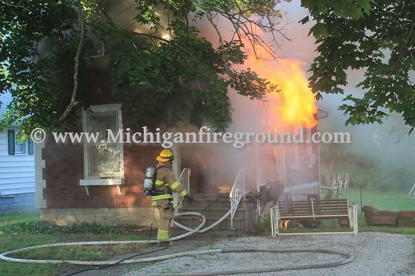 7/3/17 - Jackson house fire, 313 Bates St