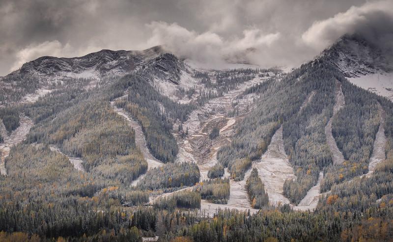 The Ski Hill, Fernie, British Columbia