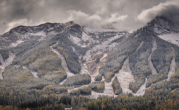 The Ski Hill, Fernie, British Columbia
