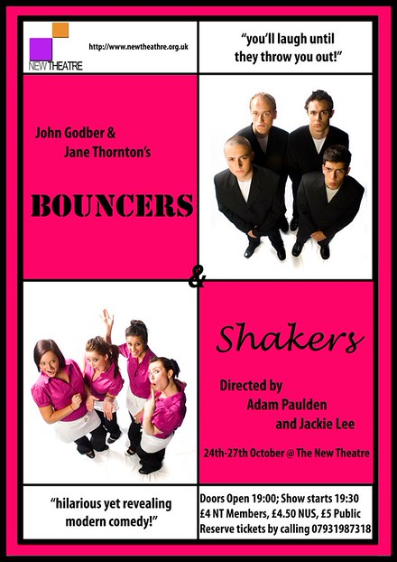 Bouncers & Shakers poster