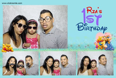 Rza's 1st Birthday
