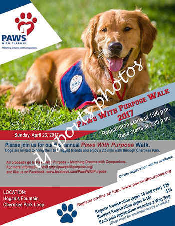 Paws with Purpose Walk-a-Thon