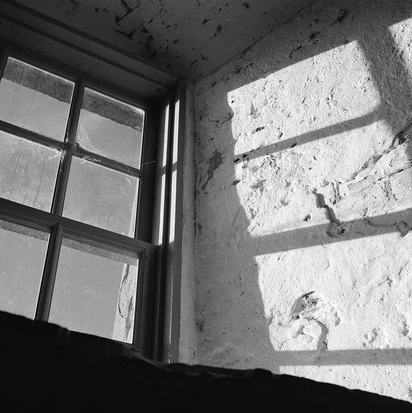 Window and Shadow, Old Baldy Lighthouse, NC. November 2000