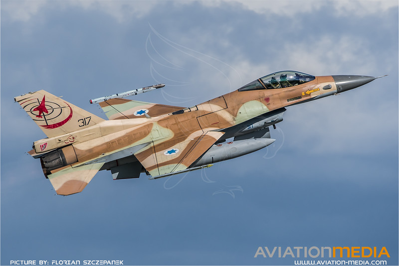 Israeli Air Force 117 Squadron / Lockheed Martin F-16C-30 Barak / 317