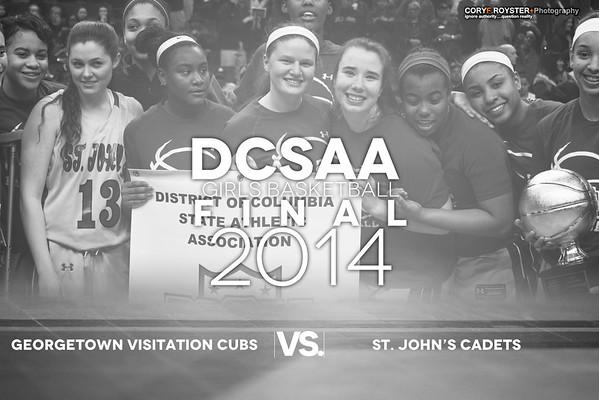DCSAA Final Girls Visitation v St John's