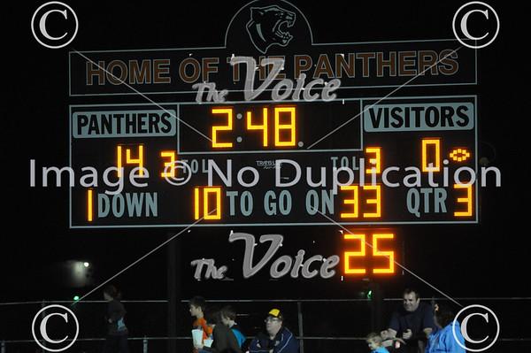 Plainfield East High School Football at Oswego High School in Oswego, Ill 10-4-13