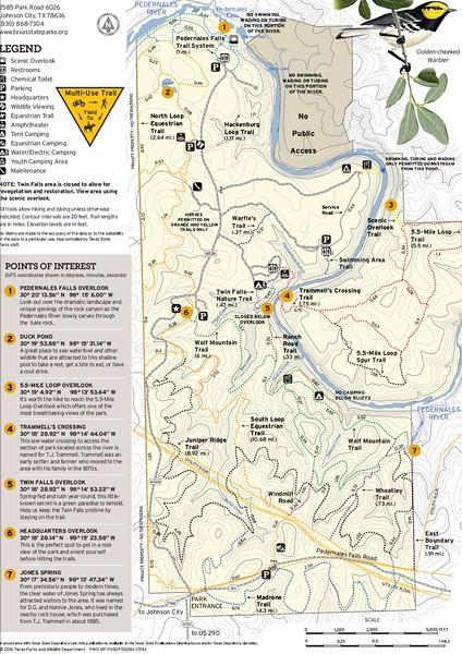 Pedernales Falls State Park (Trails)