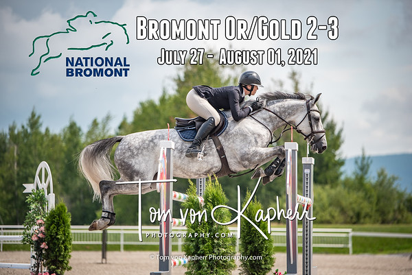 Bromont Or/Gold II July 27- August 8, 2021