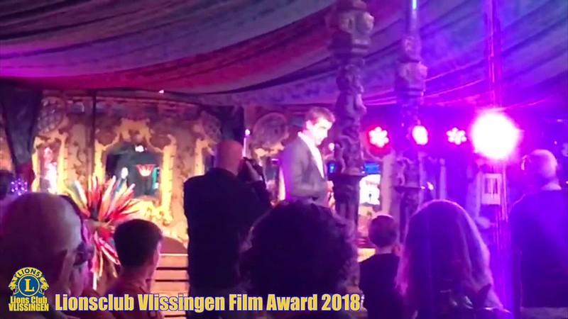 Uitreiking Lionsclub Vlissingen Film Award 2018, 15 september 2018