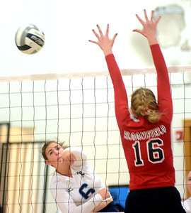 Bloomfield at St. John volleyball October 13, 2018