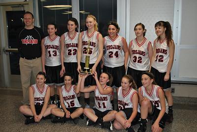 TVMS Girls' Basketball PAC Championship